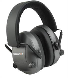 Champion Eyes & Ears Electronic Earmuffs 25 Decibels