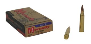 Hornady .223 Match Ammo For Sale 75gr BTHP 20 RD Box